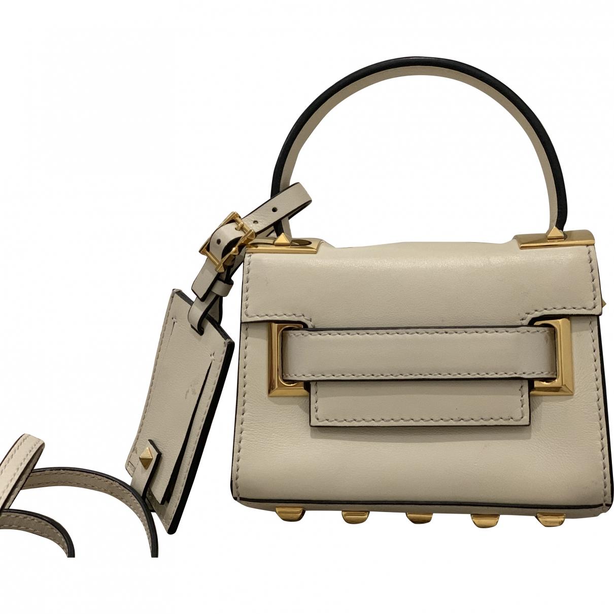 Valentino Garavani My Rockstud Beige Leather handbag for Women \N