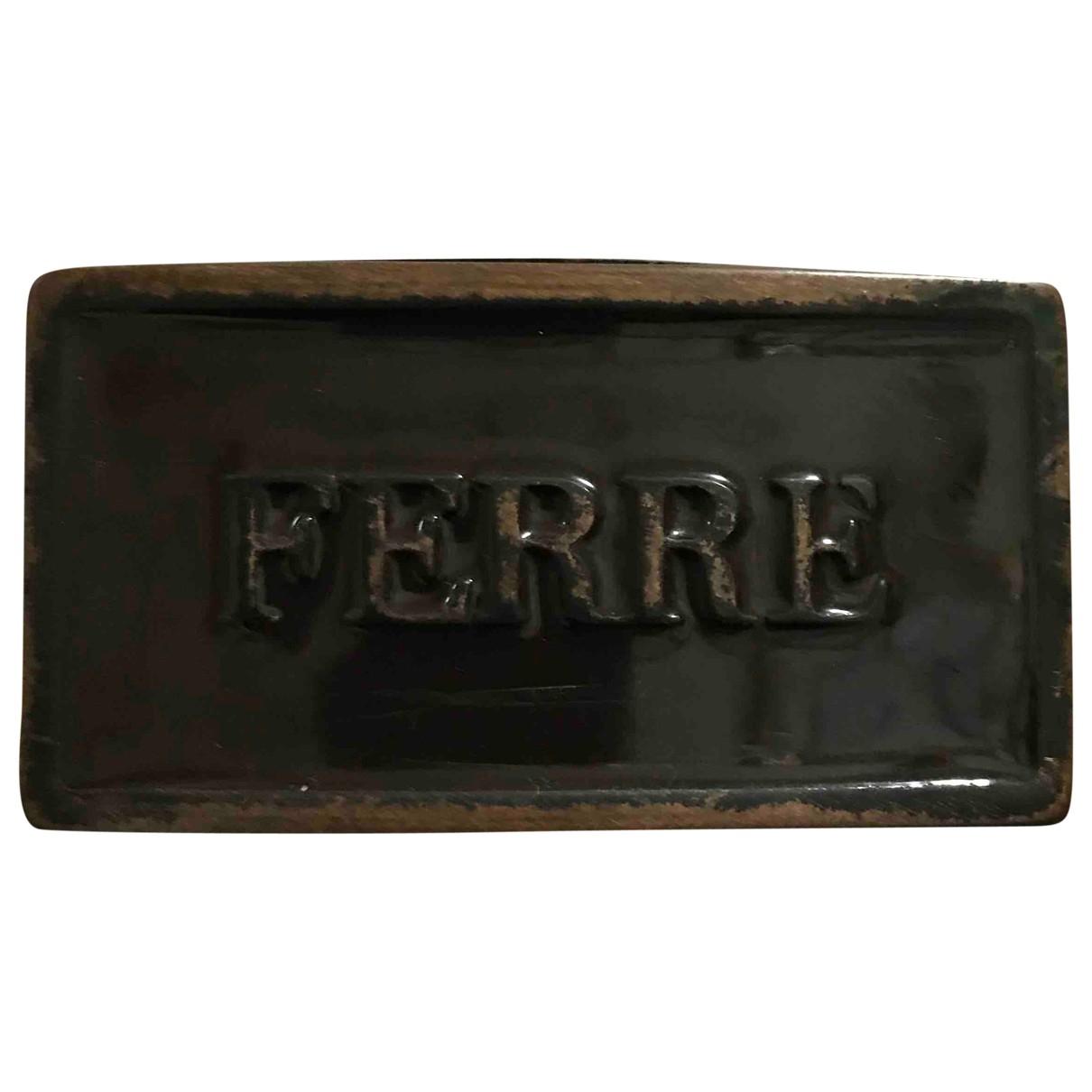 Cinturon de Cuero Gianfranco Ferre