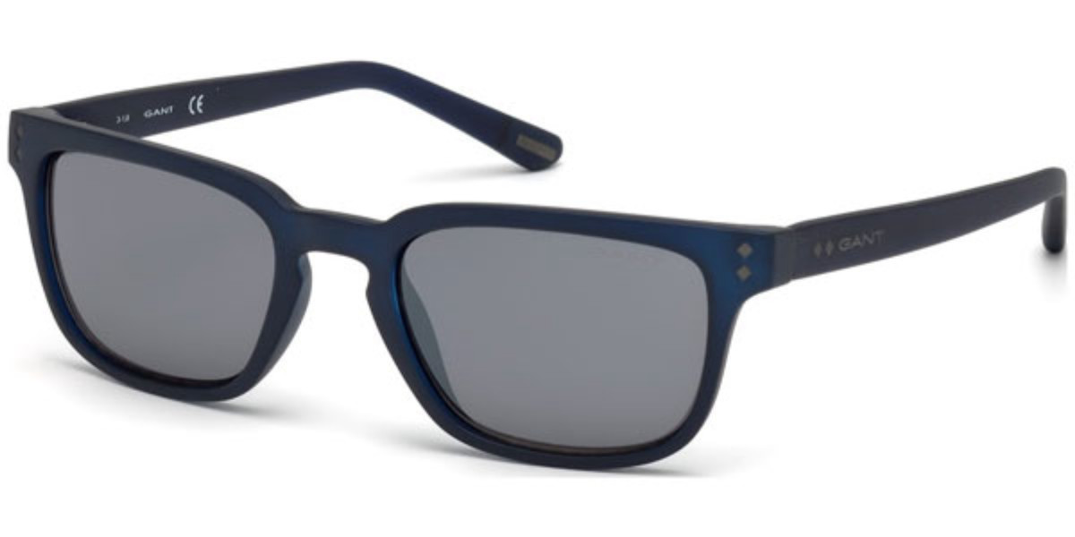 Gant GA7080 91C Mens Sunglasses Blue Size 52