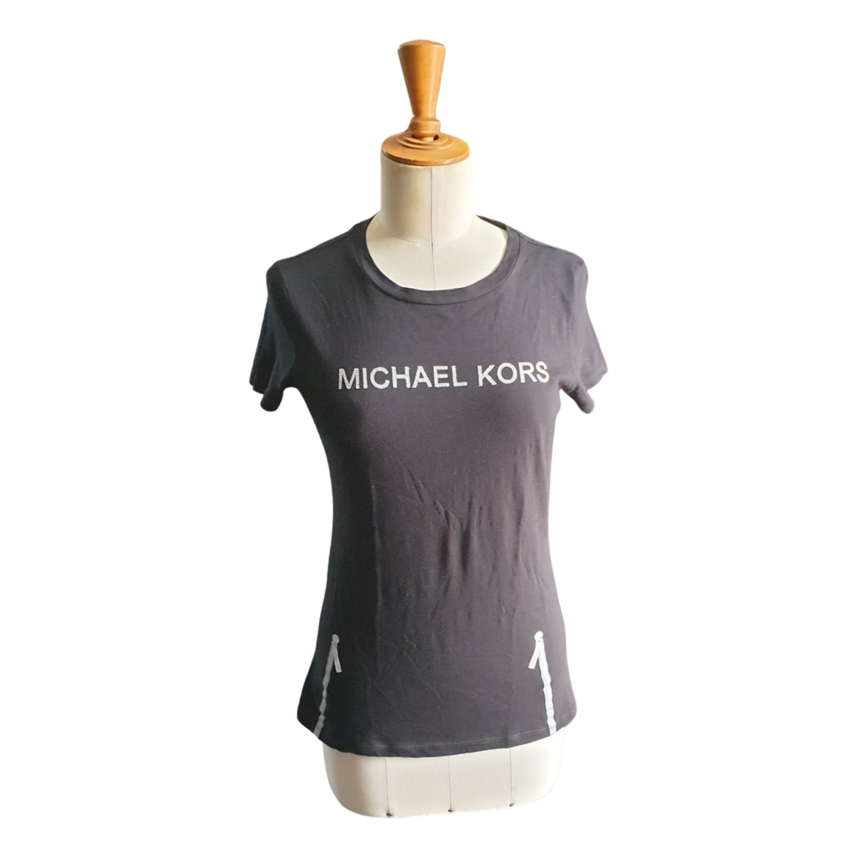 Michael Kors \N Black Cotton  top for Women 36 FR
