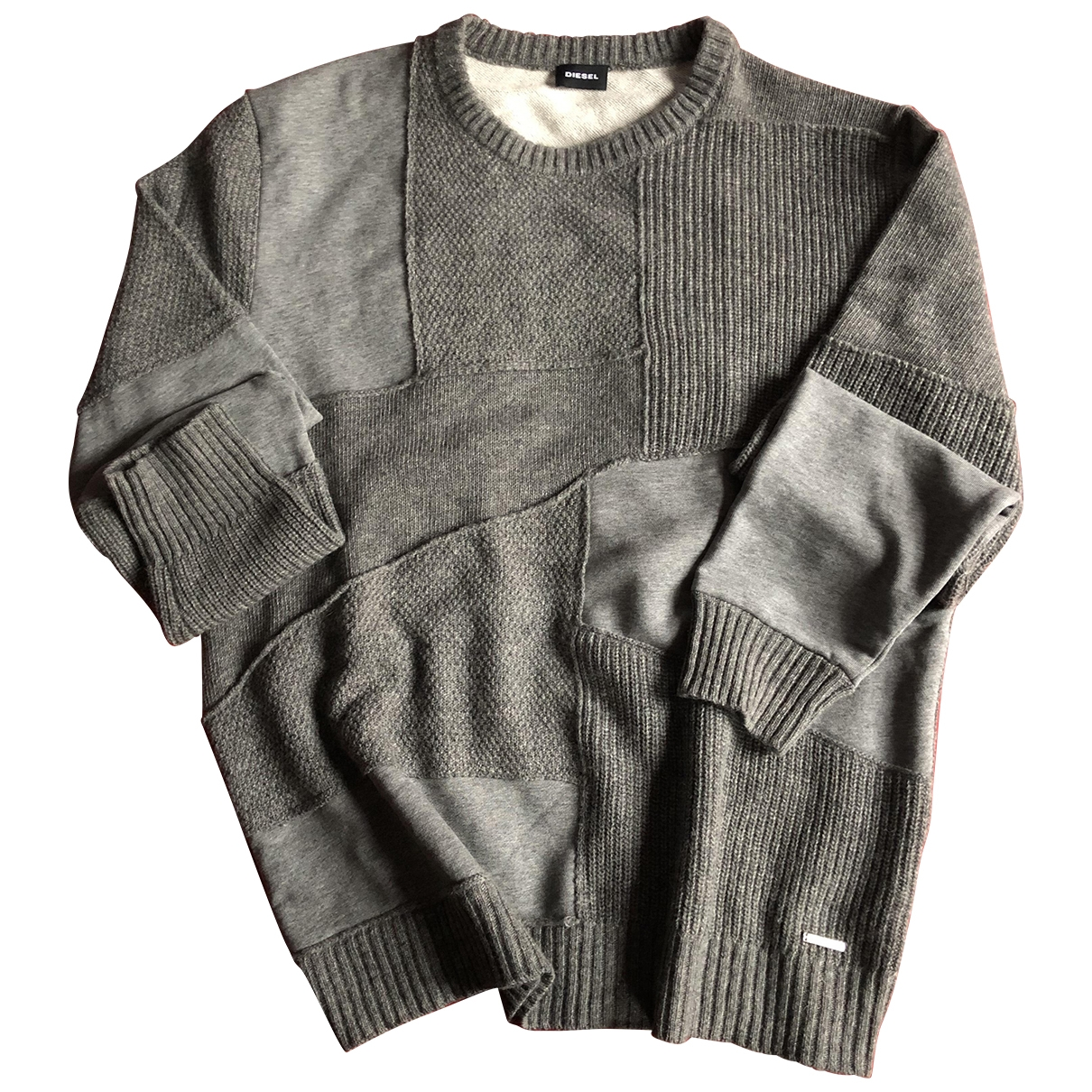 Diesel \N Grey Wool Knitwear & Sweatshirts for Men XL International