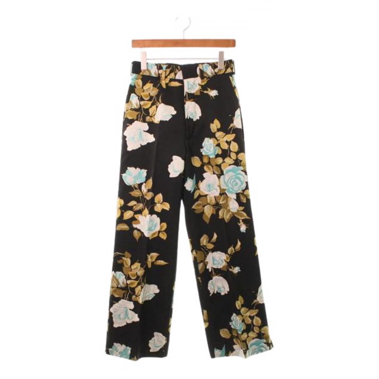 Comme Des Garcons N Black Trousers for Women S International