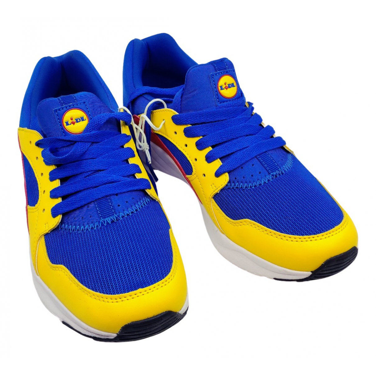 Lidl \N Yellow Cloth Trainers for Men 39 EU
