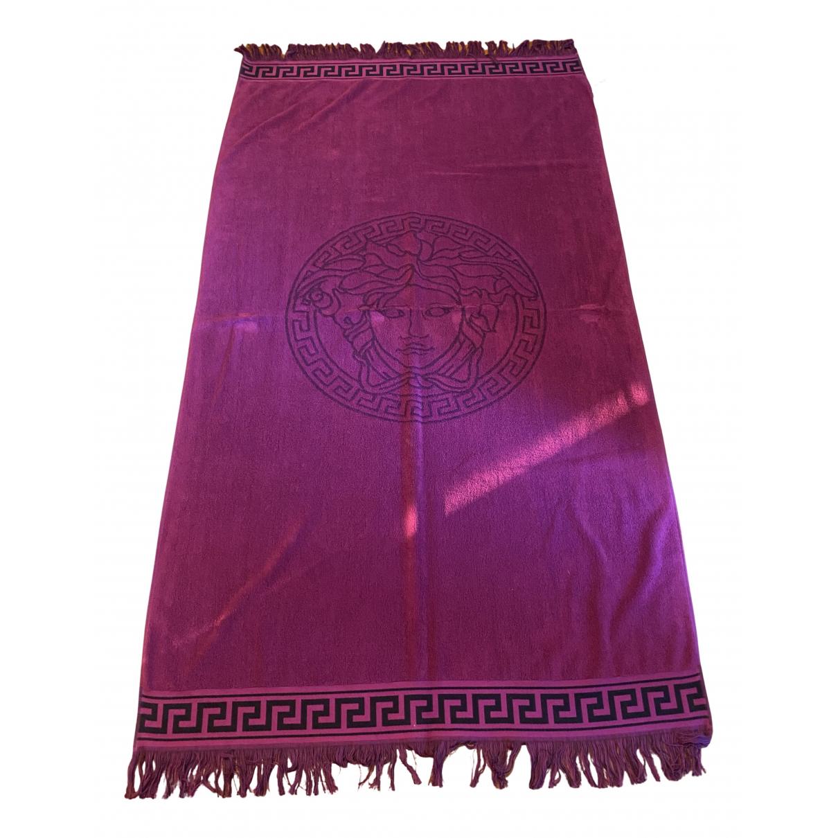 Versace - Linge de maison   pour lifestyle en eponge - violet