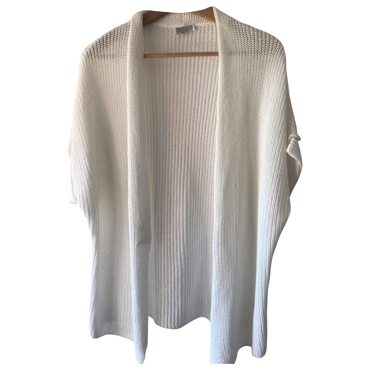 Brunello Cucinelli \N White Cotton Knitwear for Women XL International