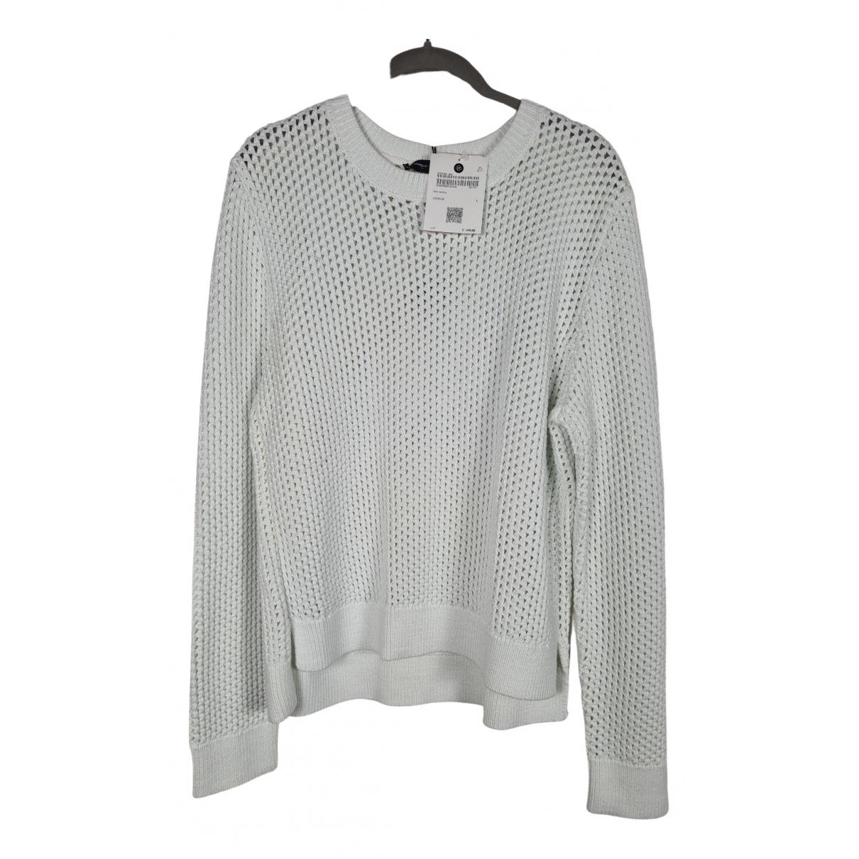 Lawrence Grey - Pull   pour femme en coton - blanc
