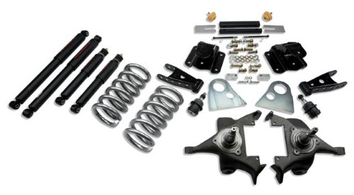 Belltech 820ND 3inch Front 4inch Rear Lowering Kit w/ ND2 Shocks Dodge Ram 1500 Ext Cab Auto 1994-1999