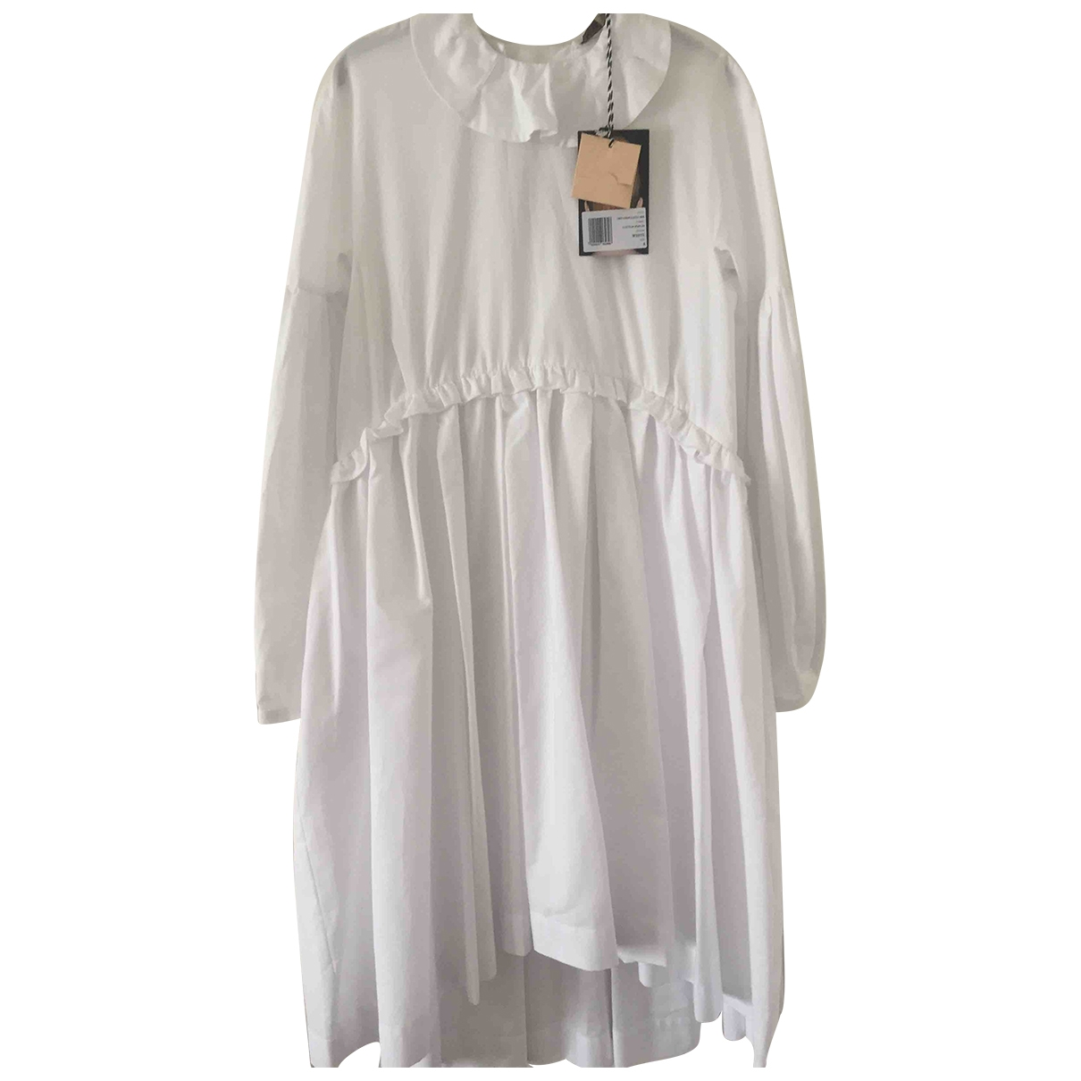 Alexa Chung - Robe   pour femme en coton - blanc