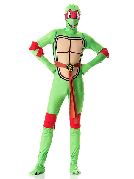Milanoo Teenage Mutant Ninja Turtles Costume Halloween Men Outfit