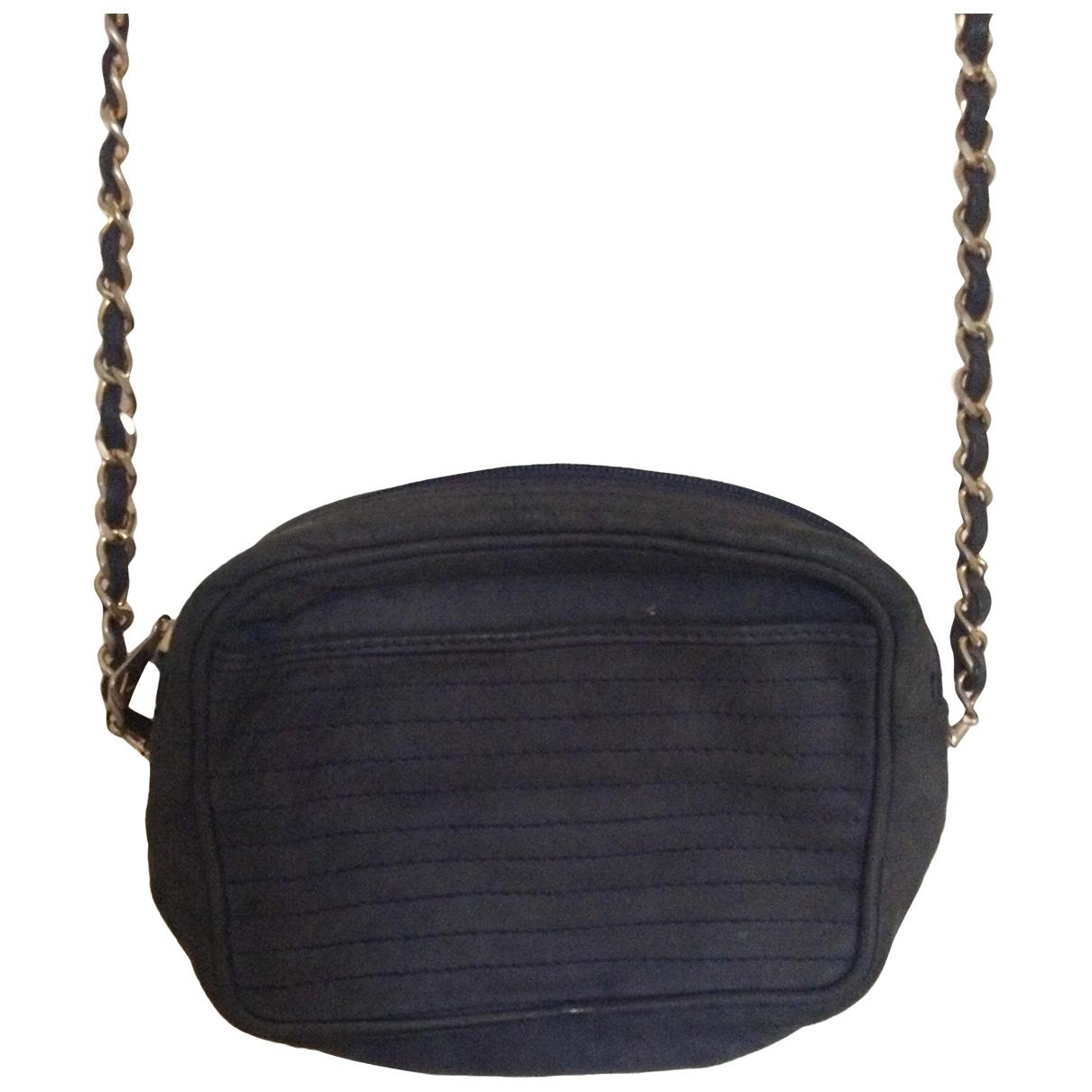 Non Signé / Unsigned \N Blue Velvet handbag for Women \N