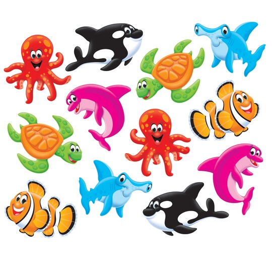 Sea Buddies™ Classic Accents® Variety Pack, 36 Per Pack, 6 Packs By Trend   Michaels®
