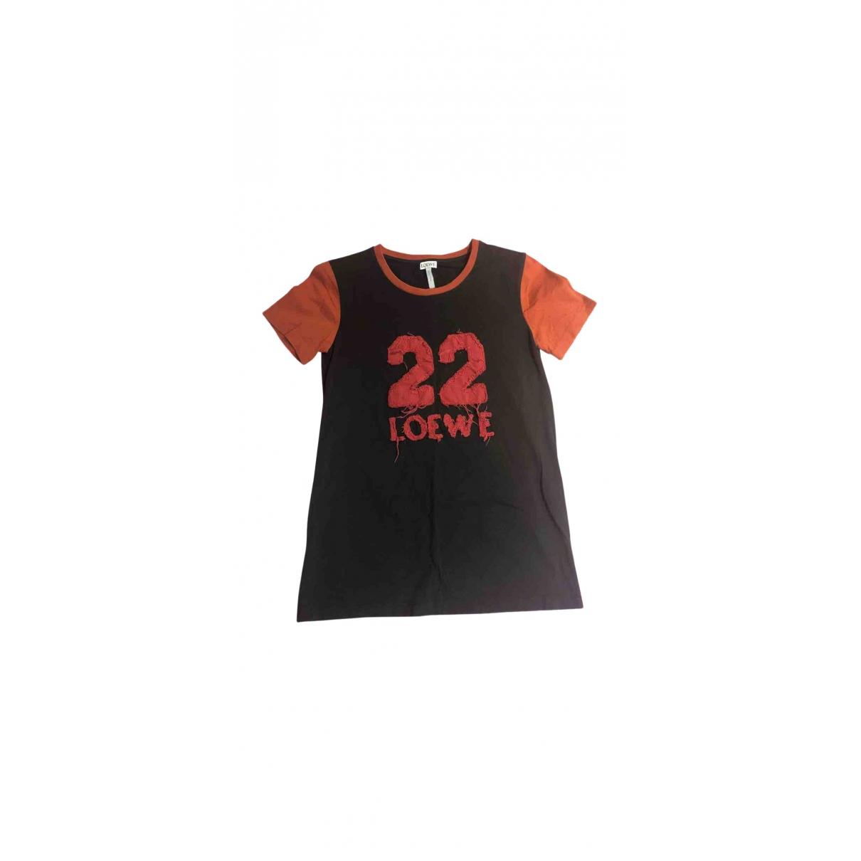 Loewe \N Top in  Schwarz Baumwolle