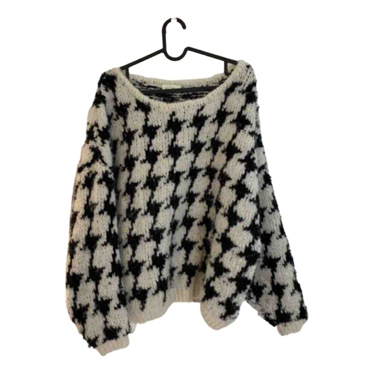 American Vintage - Pull   pour femme en laine - blanc