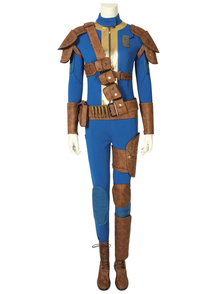 Milanoo Fallout 76 Female Halloween Cosplay Costume
