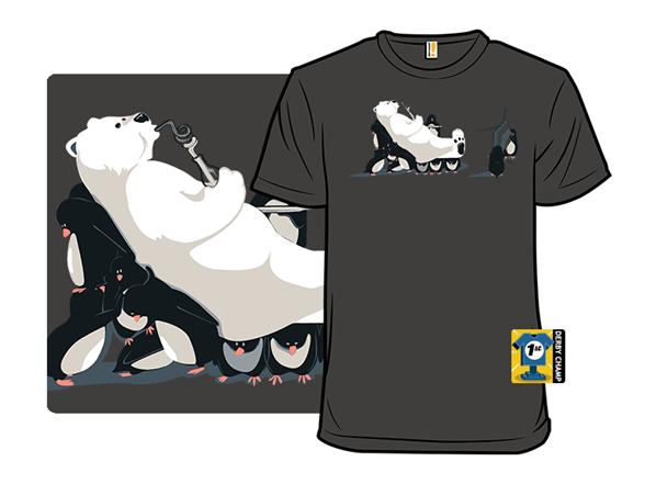 When Penguins Bribe Polar Bears T Shirt