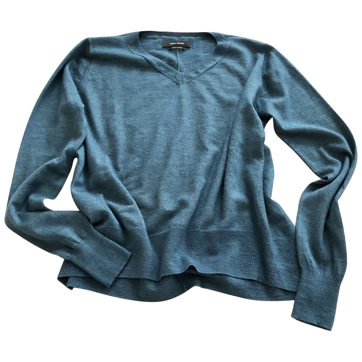 Isabel Marant N Blue Cashmere Knitwear for Women 36 FR