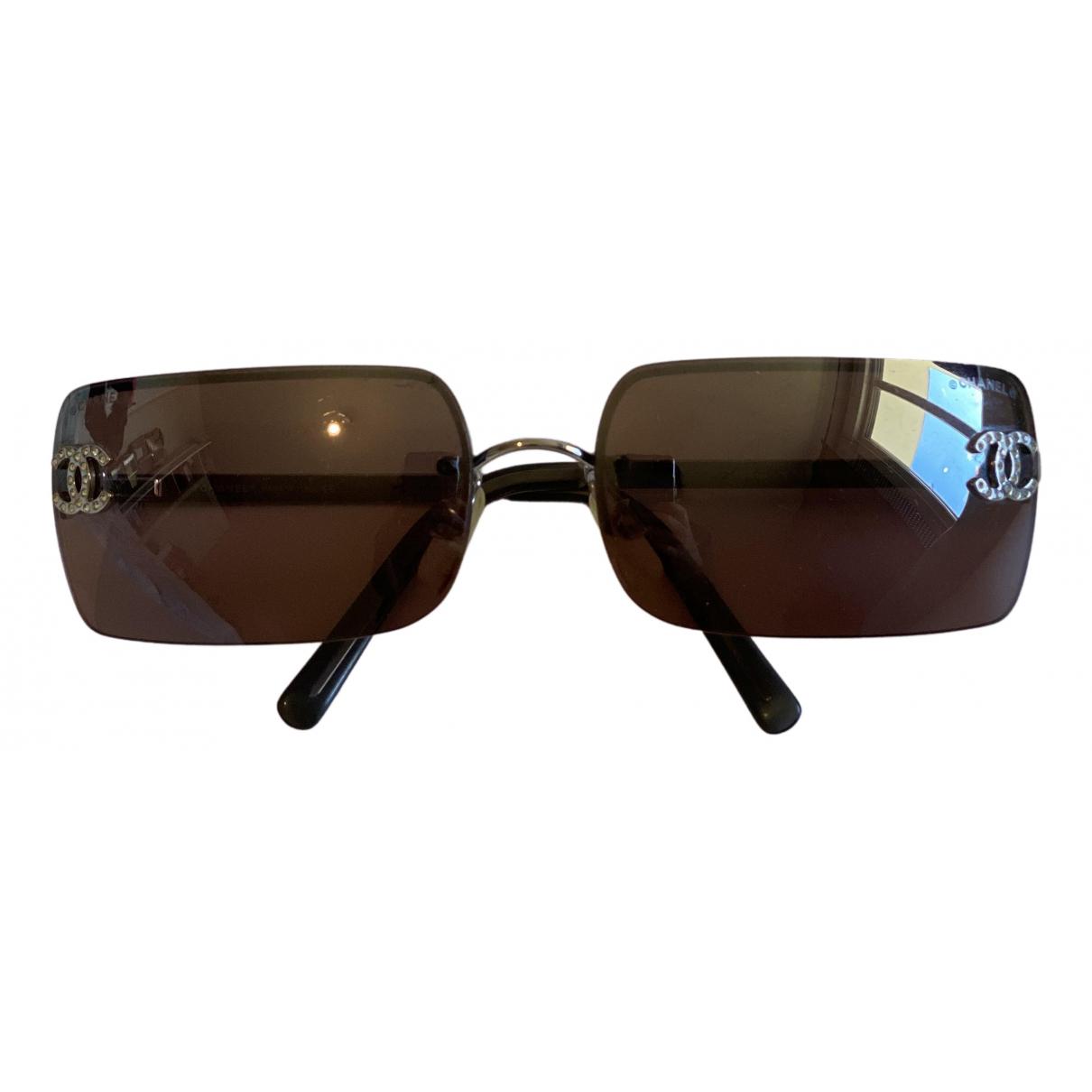 Chanel \N Sonnenbrillen in  Lila Metall