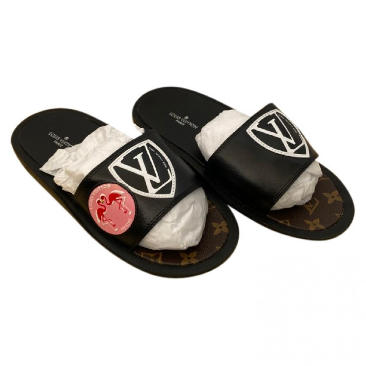Louis Vuitton - Sandales   pour femme - marron