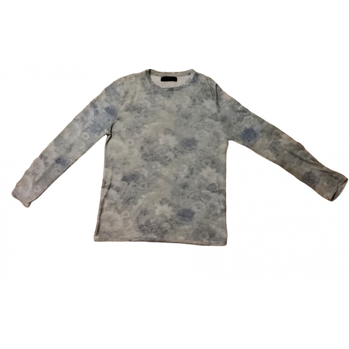Zara \N Pullover.Westen.Sweatshirts  in  Blau Leinen