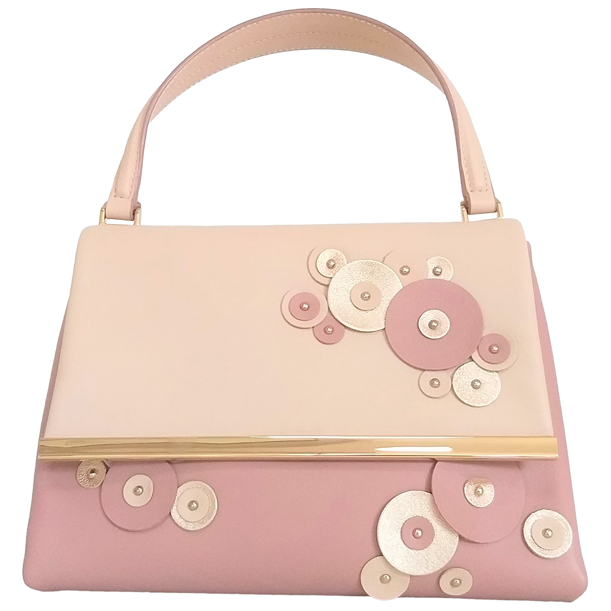 Carolina Herrera \N Pink Leather handbag for Women \N