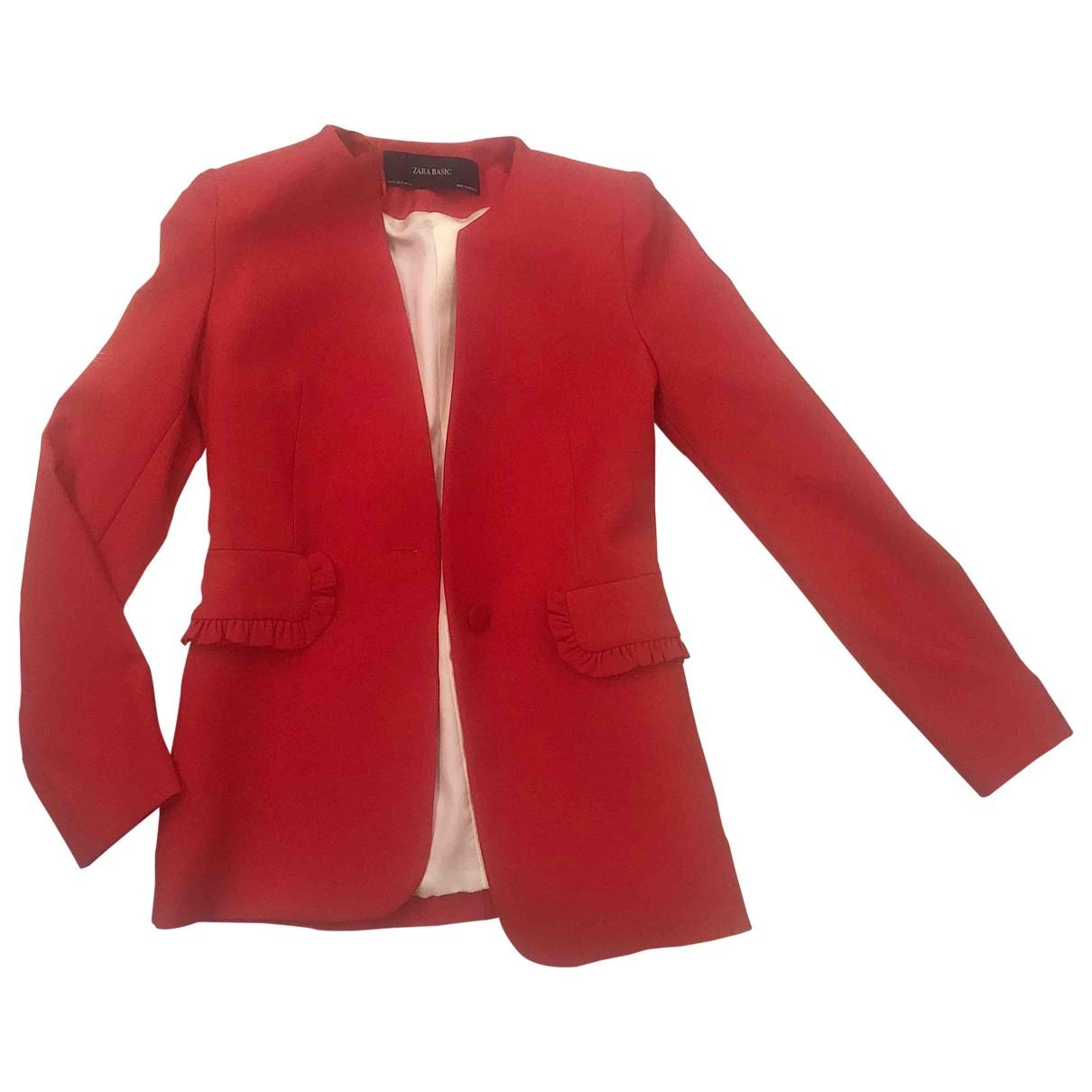 Zara \N Red jacket for Women XS International