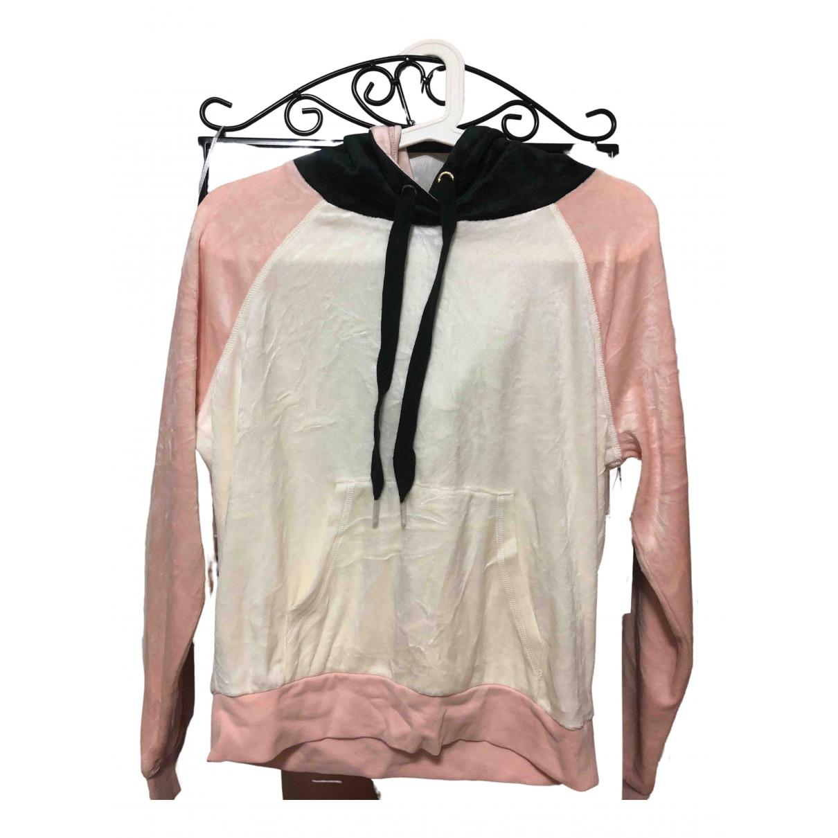 Juicy Couture - Top   pour femme en coton - blanc