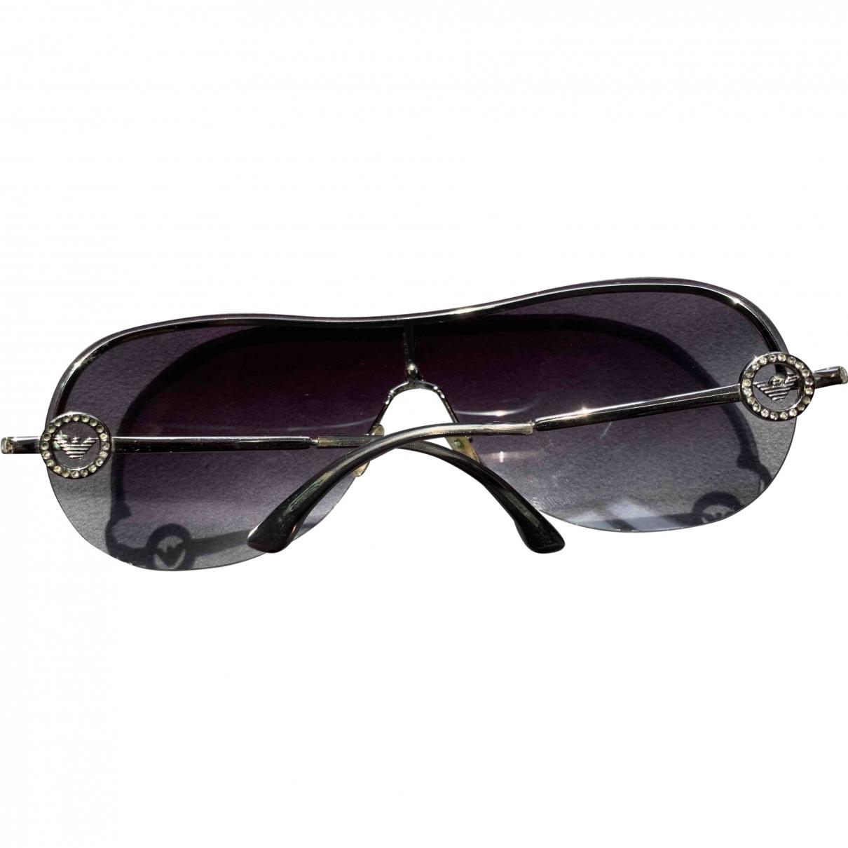 Emporio Armani \N Sonnenbrillen in  Anthrazit Kunststoff
