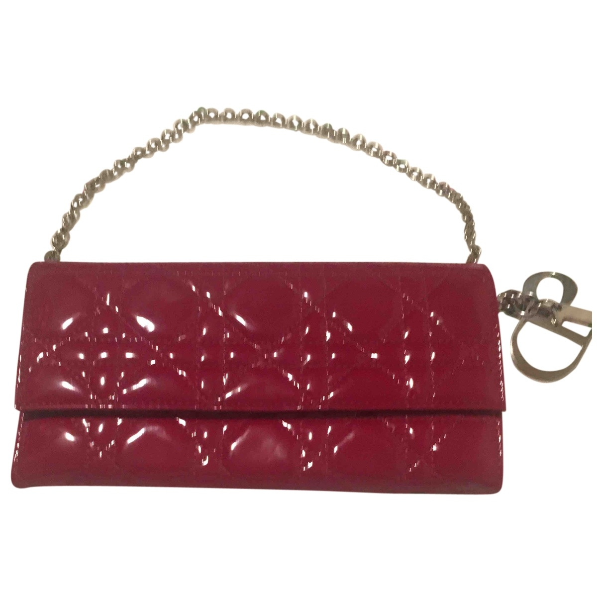 Christian Dior \N Red Patent leather Clutch bag for Women \N
