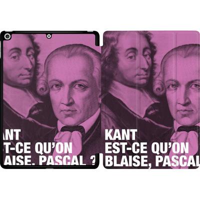 Apple iPad 9.7 (2017) Tablet Smart Case - Kant Blaise Et Pascal von Fists Et Lettres