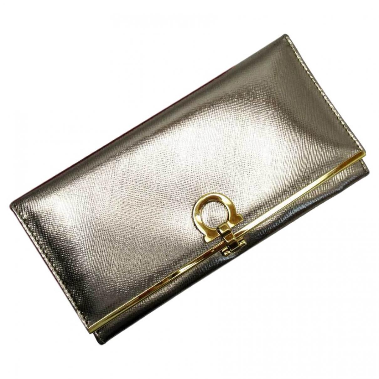 Salvatore Ferragamo \N Brown Leather wallet for Women \N