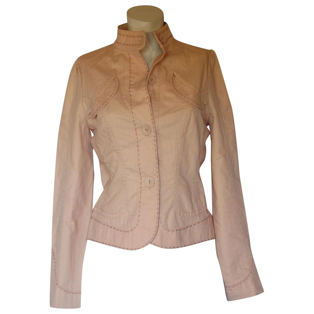 Essentiel Antwerp - Manteau   pour femme en coton - rose