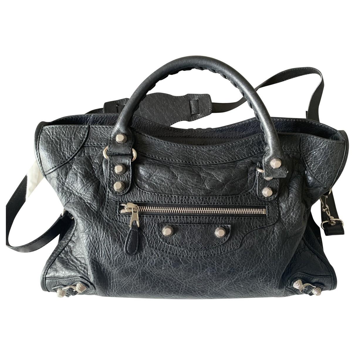 Balenciaga Work Black Leather handbag for Women \N