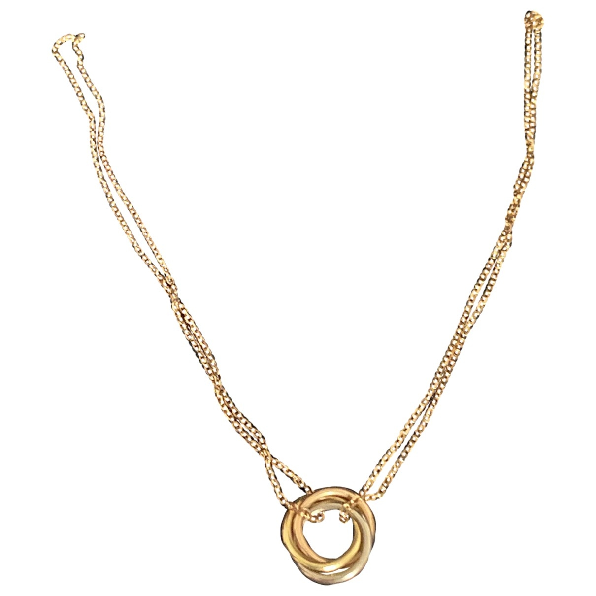 Cartier Trinity Pink gold necklace for Women \N