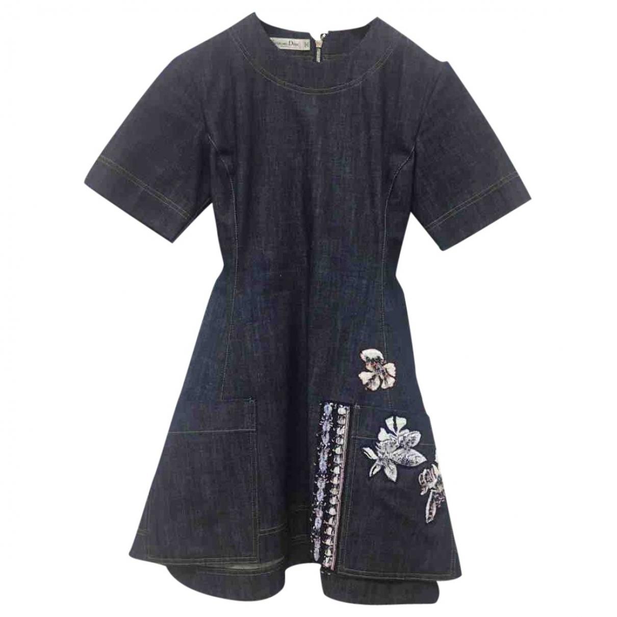 Dior \N Blue Denim - Jeans dress for Women 34 FR