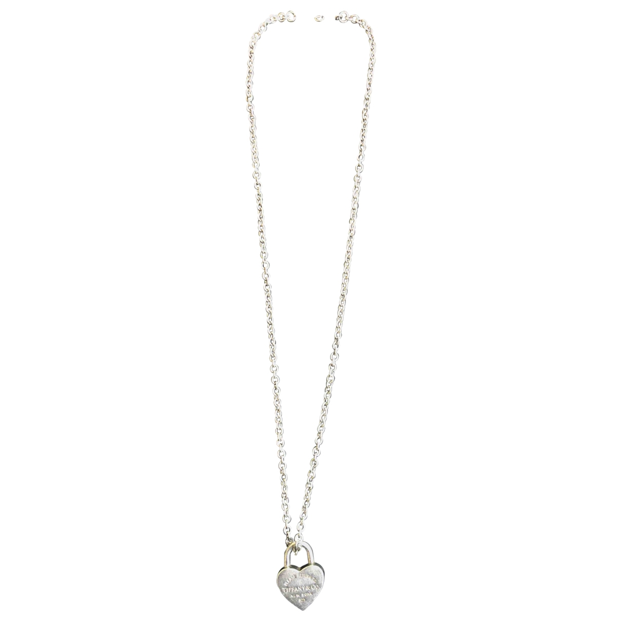 Tiffany & Co Return to Tiffany Silver Silver necklace for Women \N