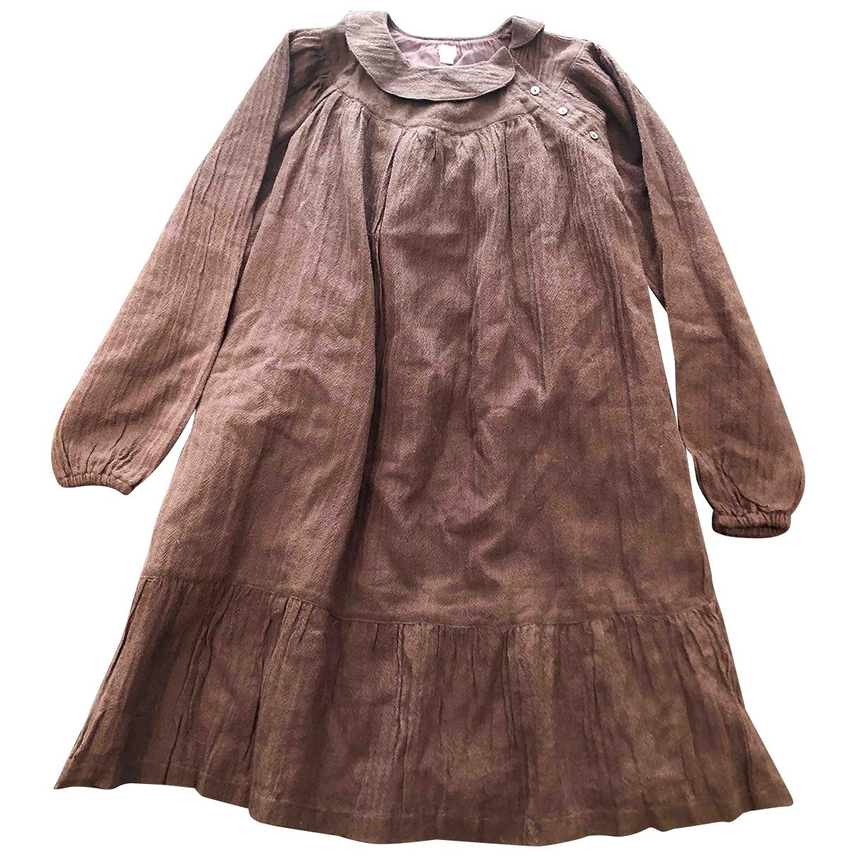 Maxi vestido de Lana Luco