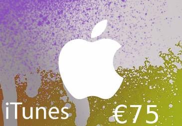iTunes €75 DE Card