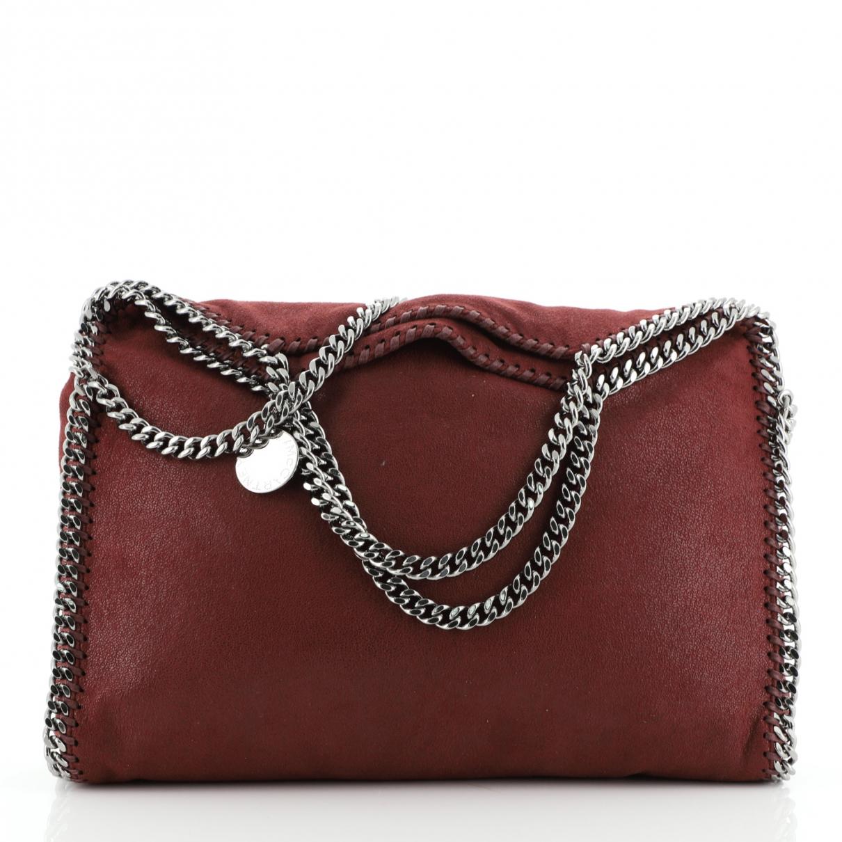 Stella Mccartney \N Handtasche in  Rot Leder