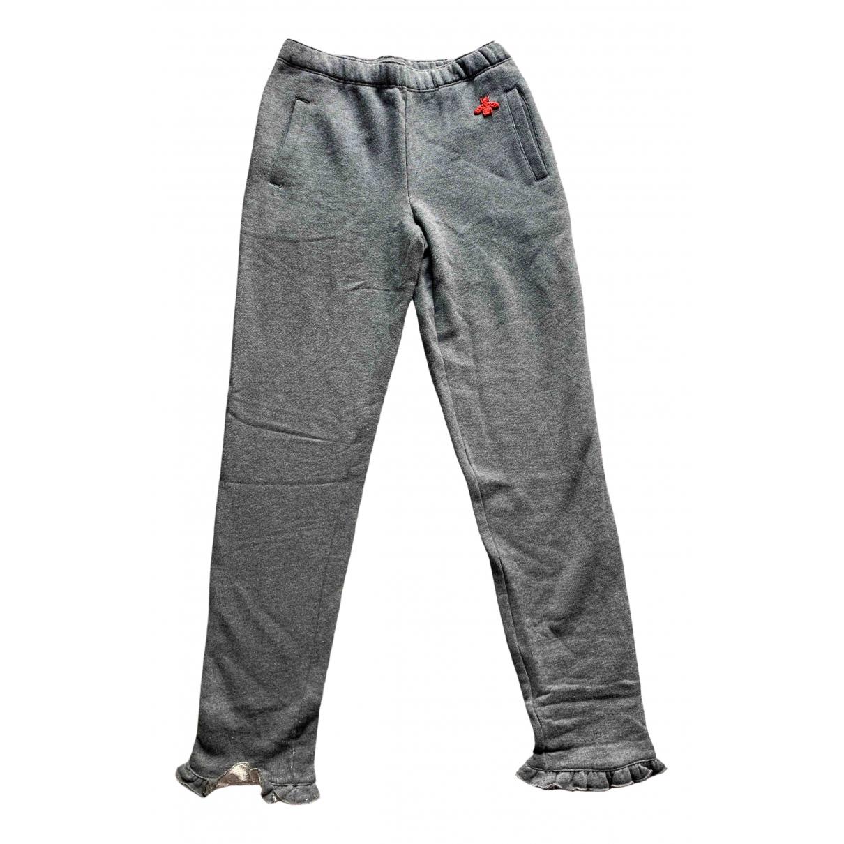 Gucci - Pantalon   pour enfant en coton - gris
