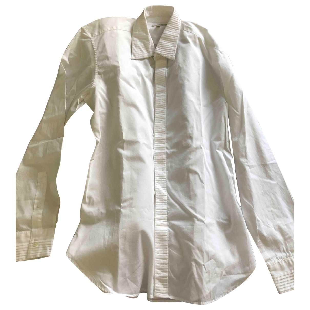 Burberry \N White Cotton Shirts for Men M International
