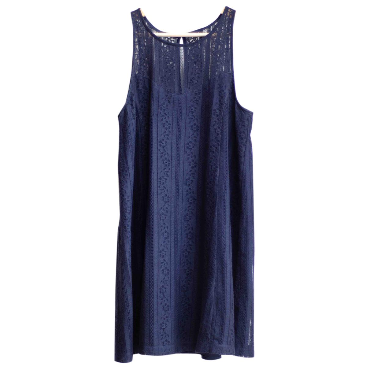 Abercrombie & Fitch \N Kleid in  Blau Baumwolle