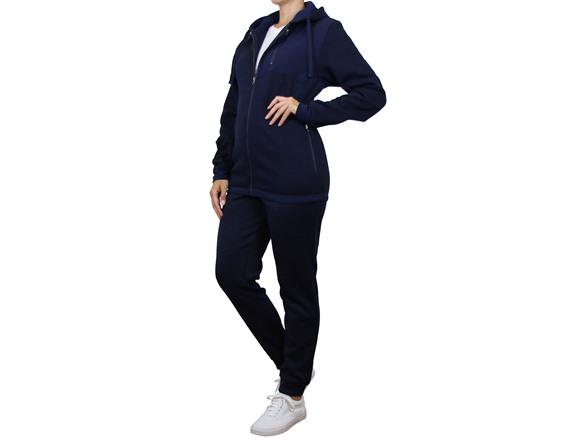 Women's Fleece Lined Zip Hoodie&jogger