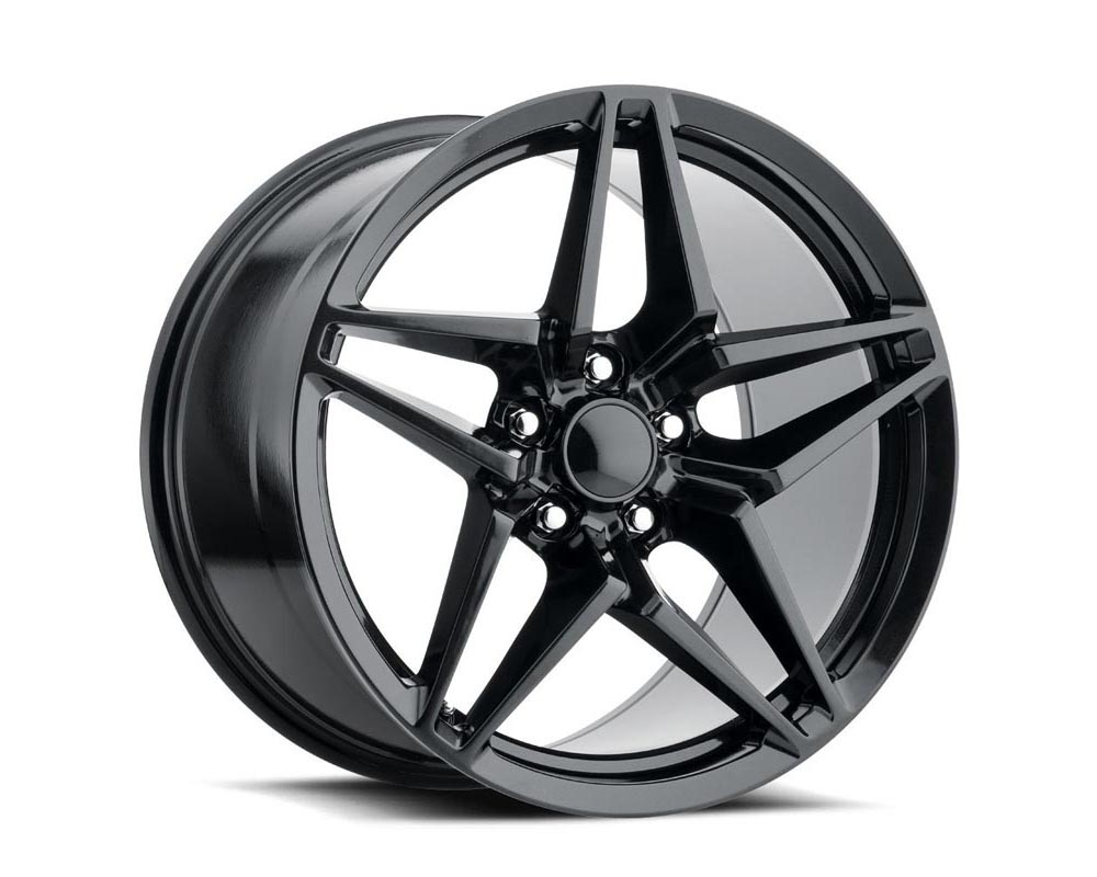 Factory Reproduction Series 29 Wheels 18x9.5 5x4.75 +40 HB 70.3 C7 ZR1 Satin Black w/Cap