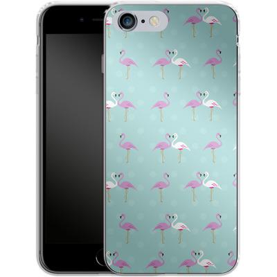 Apple iPhone 6 Plus Silikon Handyhuelle - Two Flamingos von caseable Designs