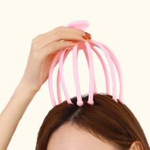 Einfarbiges Kopfmassagegeraet