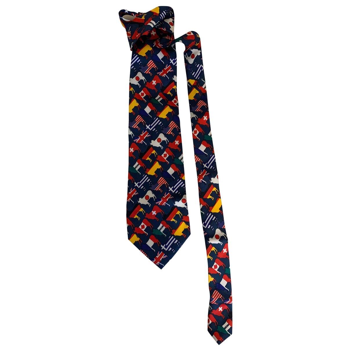 Moschino - Cravates   pour homme en soie - multicolore