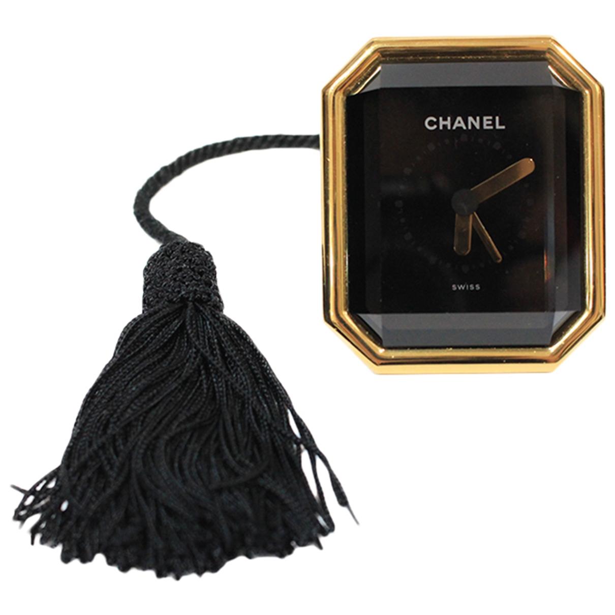 Chanel Premiere Uhr in  Gold Stahl