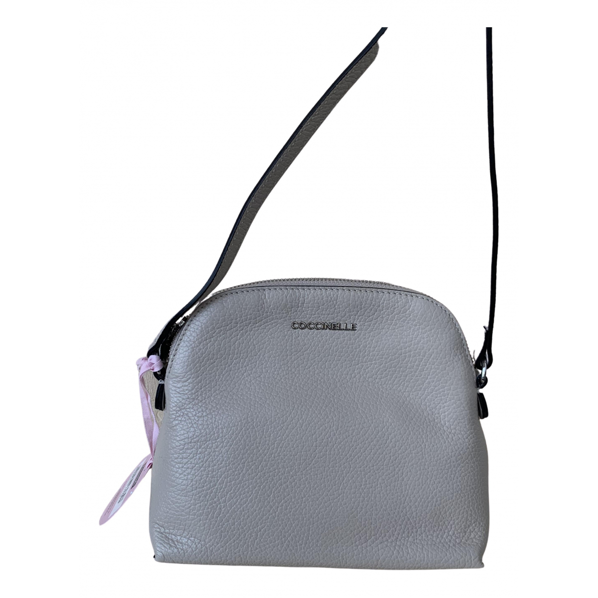 Coccinelle N White Leather handbag for Women N