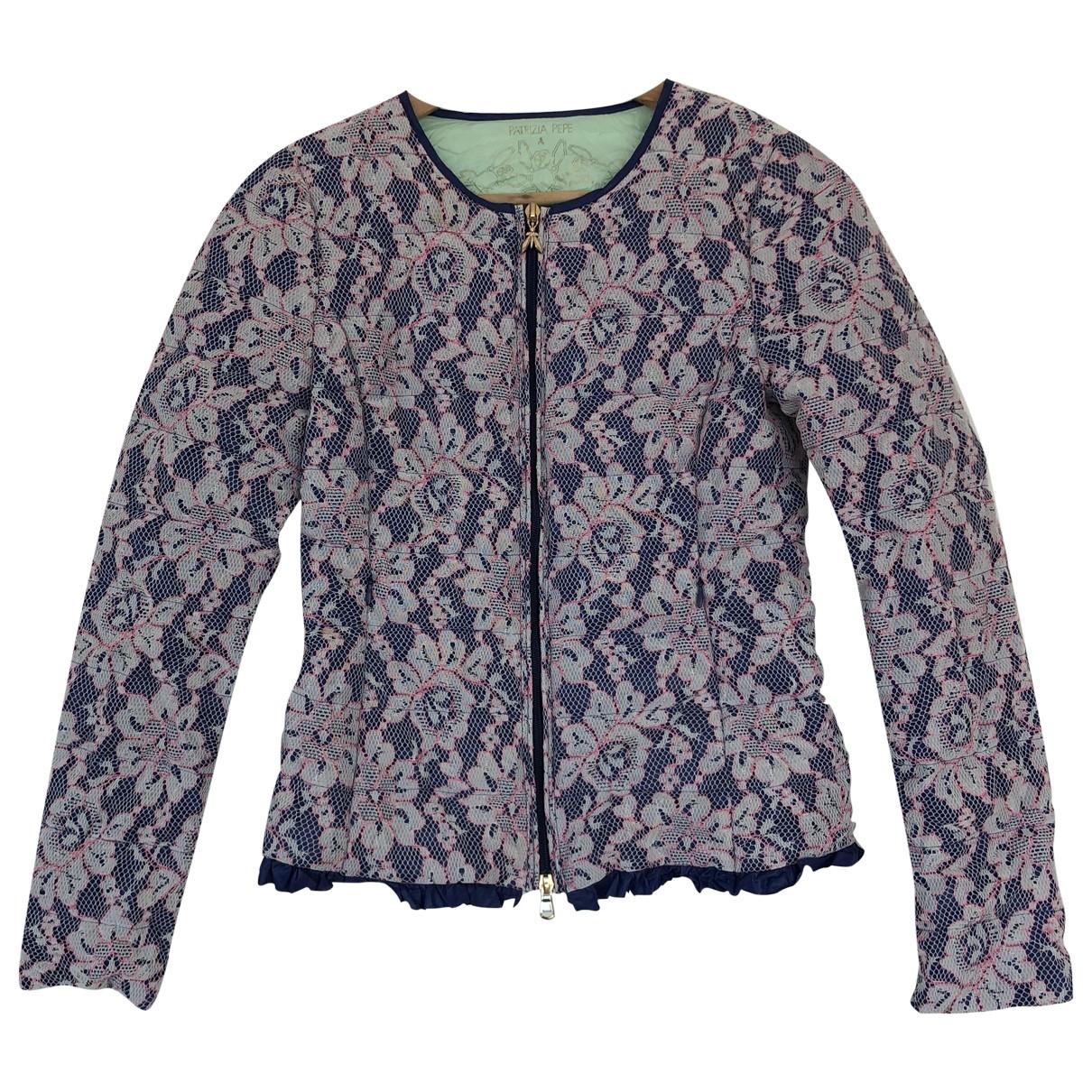 Patrizia Pepe \N Blue jacket for Women 40 IT