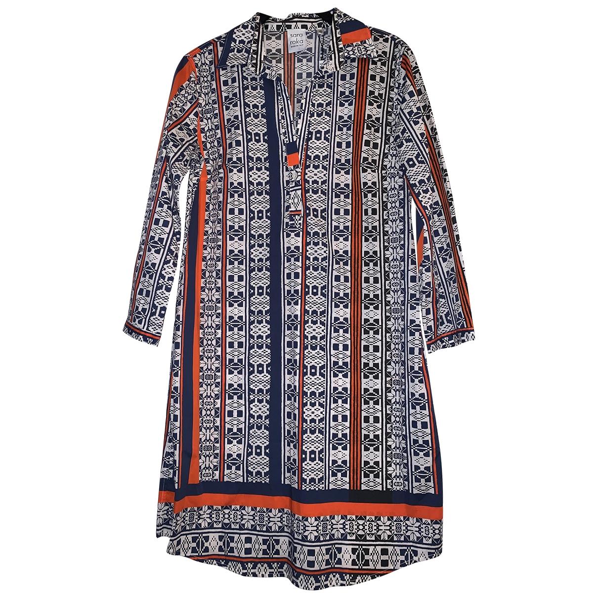 Sara Roka \N Multicolour Cotton - elasthane dress for Women 42 IT